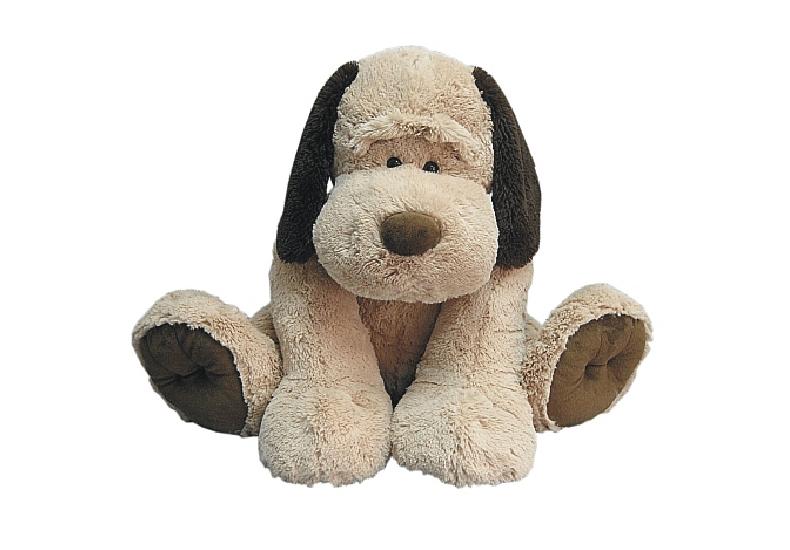 Tu el que vols és un gos de peluix!
